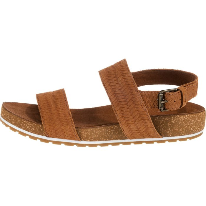 Timberland Timberland Malibu Waves 2-Band Sandal brown