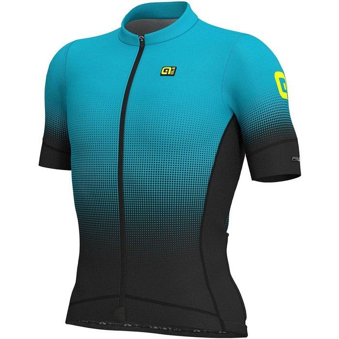 Alé Cycling Alé Cycling Dots Men Jersey black-light blue