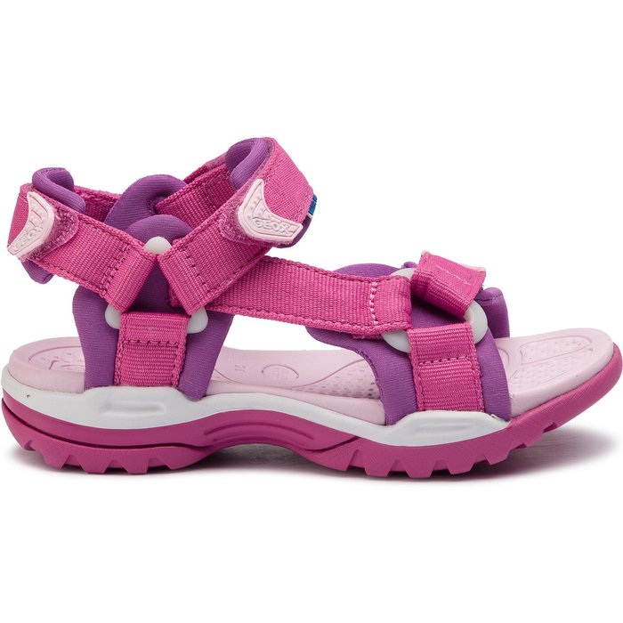 Geox Geox  J720WA  girls's Children's Sandals in Pink. Sizes available:3.5,8.5,12.5,13.5,14,11.5 kid,15