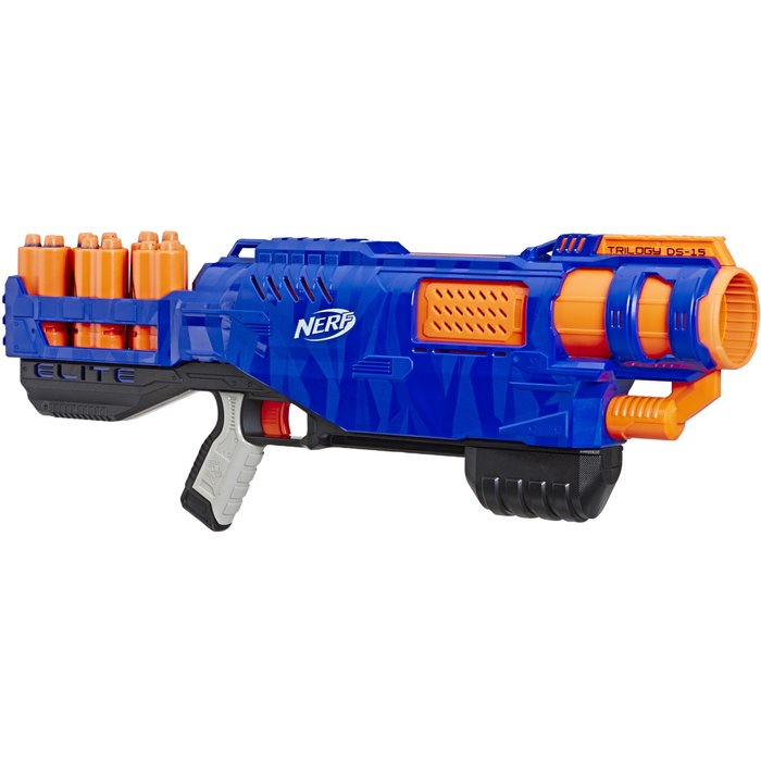 NERF NERF E2853EU4 Elite Trilogy DS 15, Multicolour