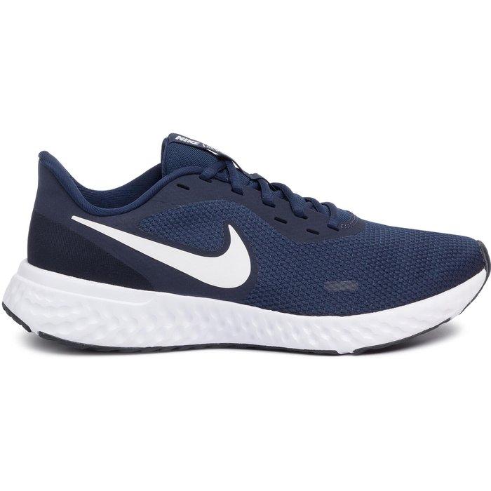 Nike Mens Nike Run Revolution 5 Trainers -  Blue
