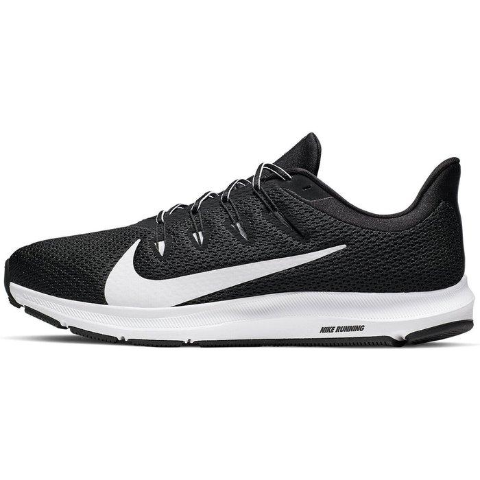 Nike Mens Nike Run Grey Quest 2 Trainers -  Grey