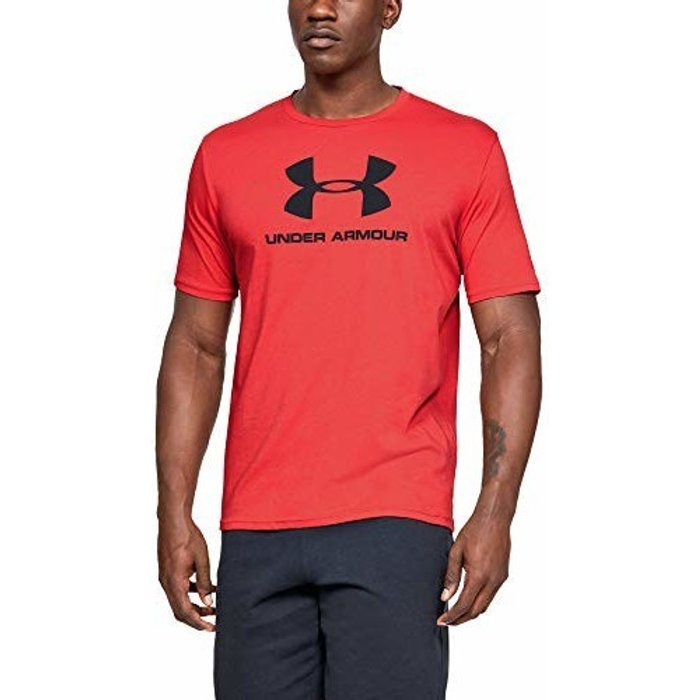 Under Armour Mens Under Armour Sportstyle T-Shirt -  Red