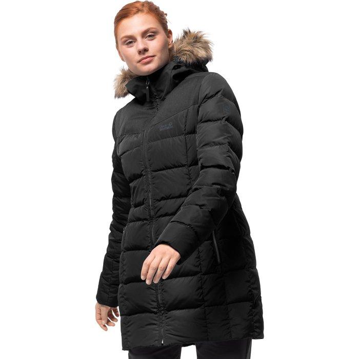 Jack Wolfskin Jack Wolfskin Womens Baffin Island Coat - Black