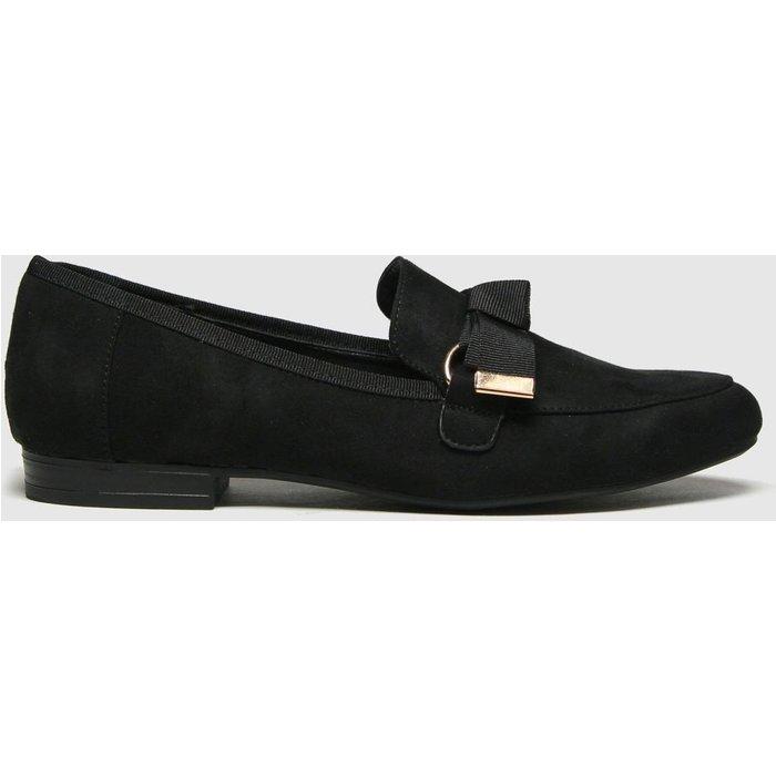 Save 64% - Schuh Black Lima Hardware Bow Loafer Flat Shoes