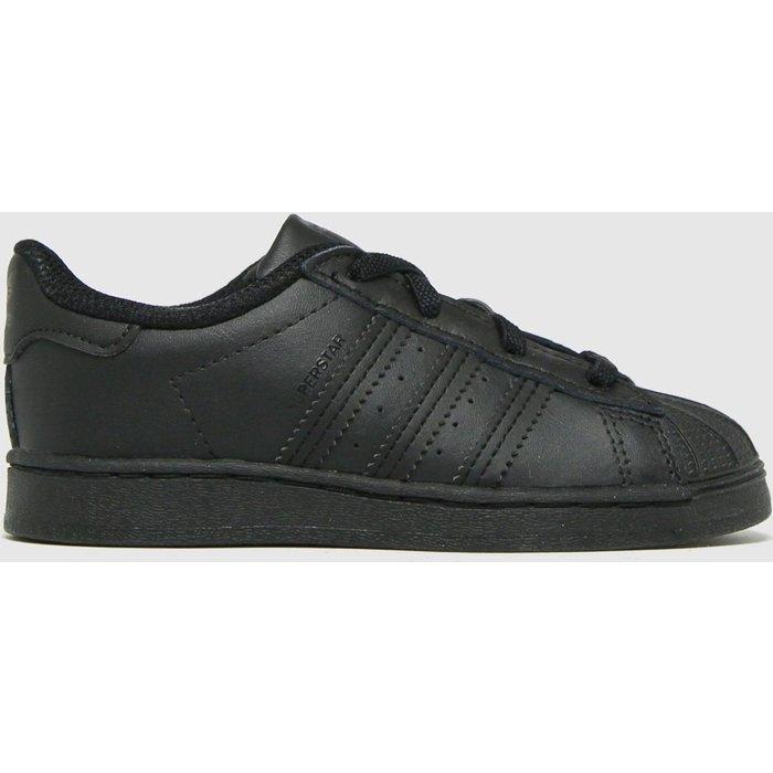 Save 34% - Adidas Black Superstar El Trainers Toddler