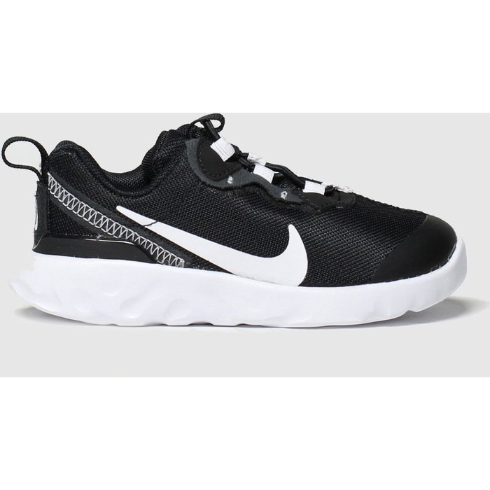 Save 55% - Nike Black & White Renew Element 55 Trainers Toddler