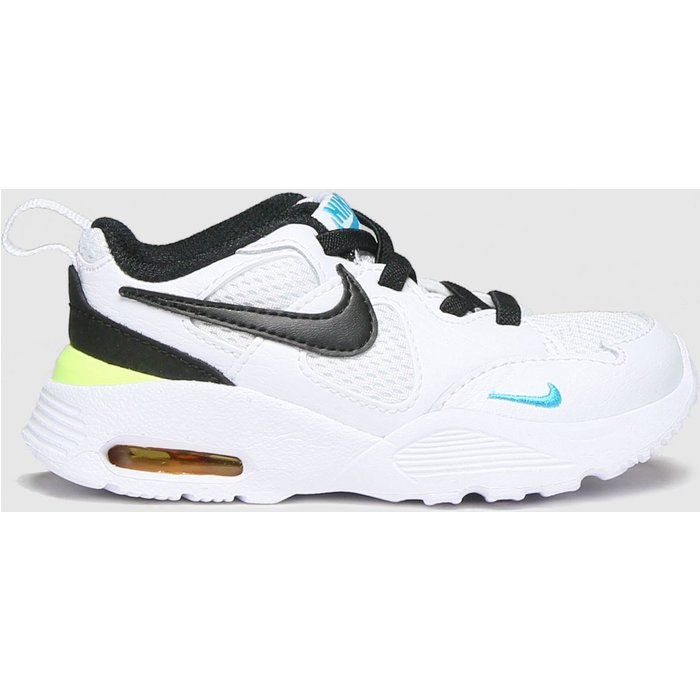 Save 63% - Nike White & Black Air Max Fusion Trainers Toddler