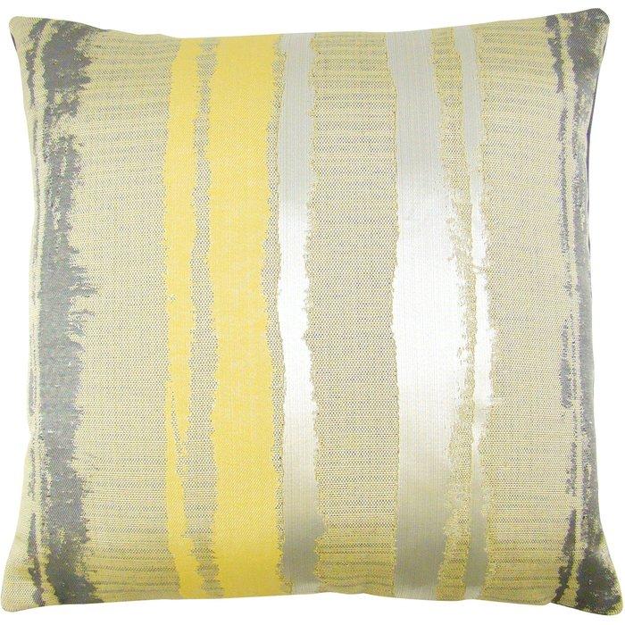 Margo Stripe Cushion Cover Ochre