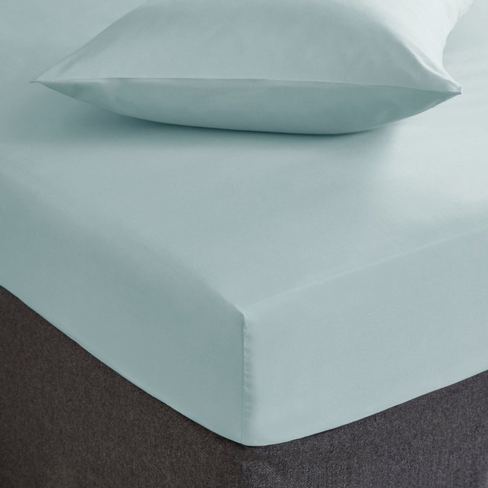 Fogarty Soft Touch Fitted Sheet Ocean (Blue)
