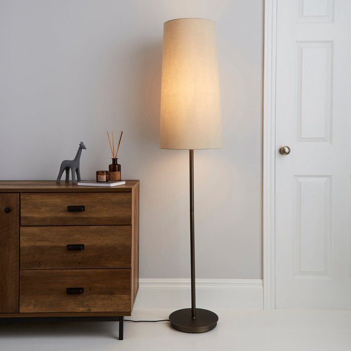 Bronson Natural Floor Lamp Natural