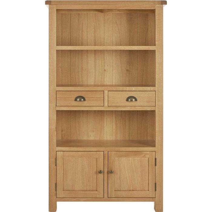 Sherbourne Oak Tall Cabinet Natural