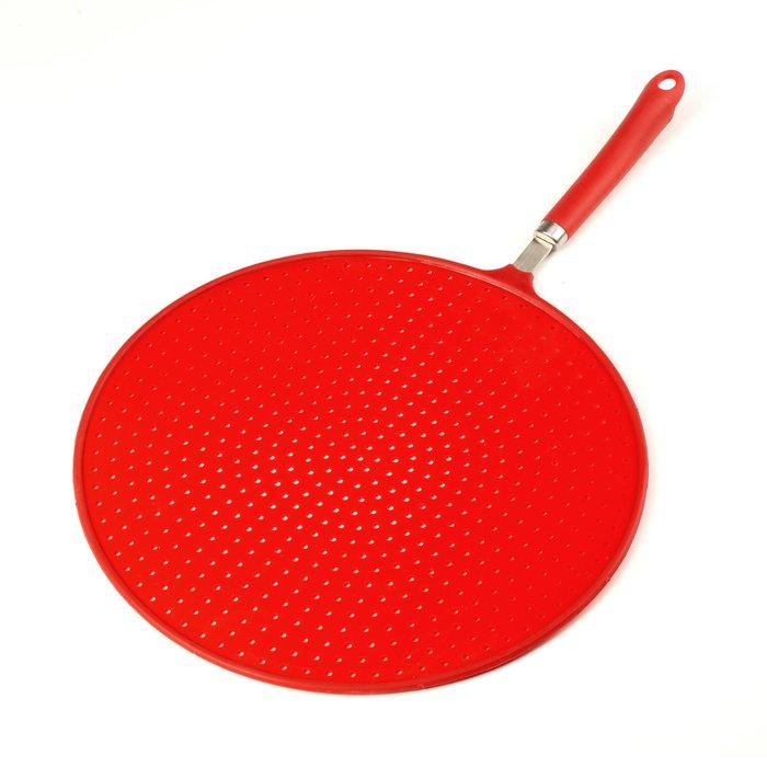 Spectrum Red Splatter Guard Red