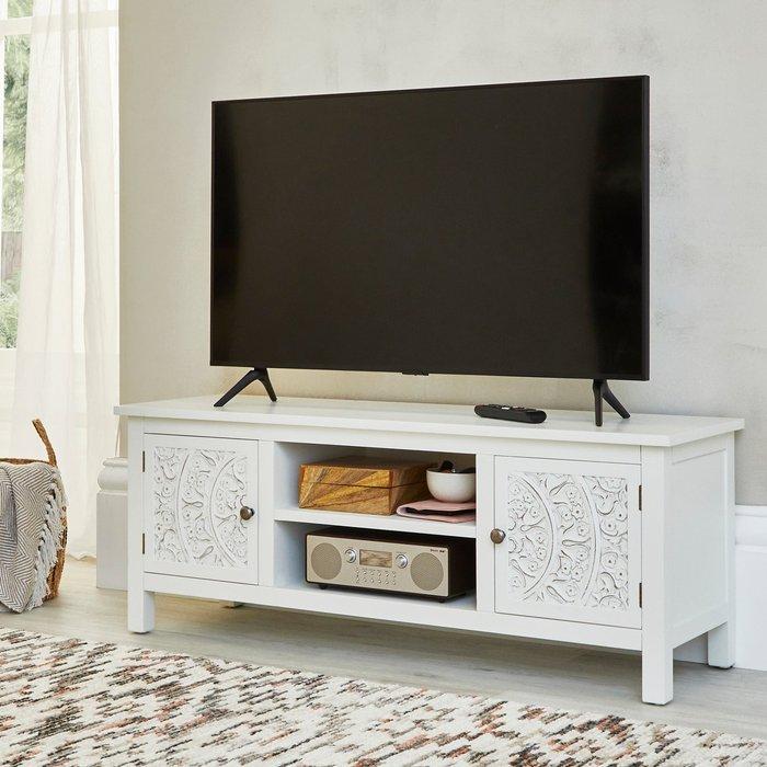 Samira TV Stand White