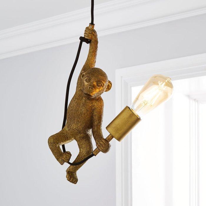 Odisha Monkey Ceiling Fitting Gold