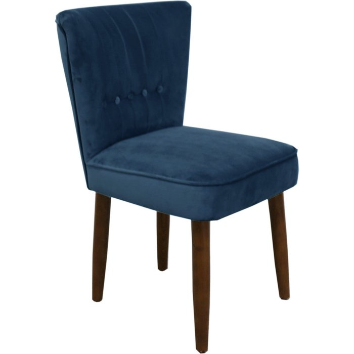 Isla Velvet Dining Chair Blue