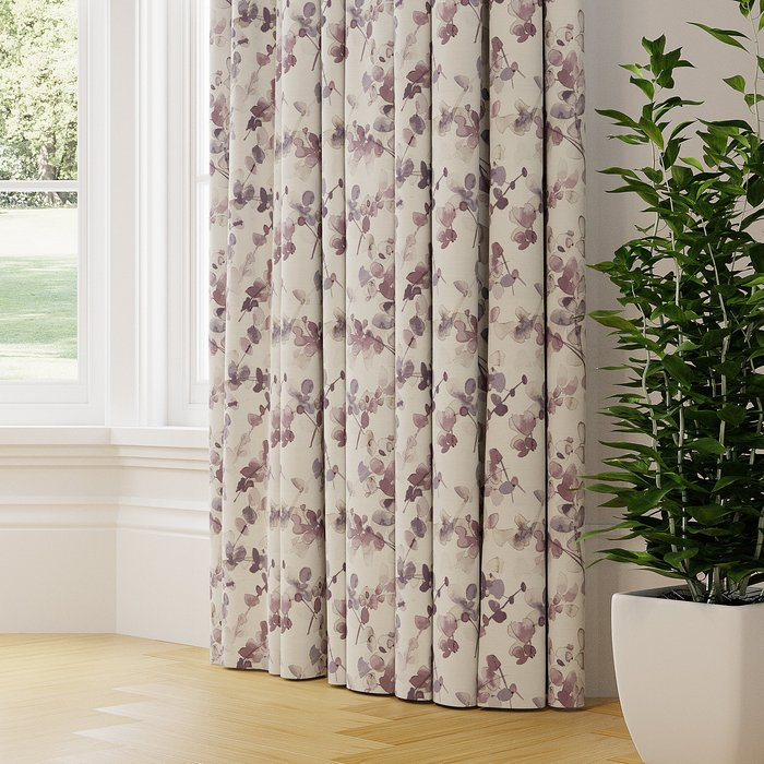 Honesty Made to Measure Curtains purple