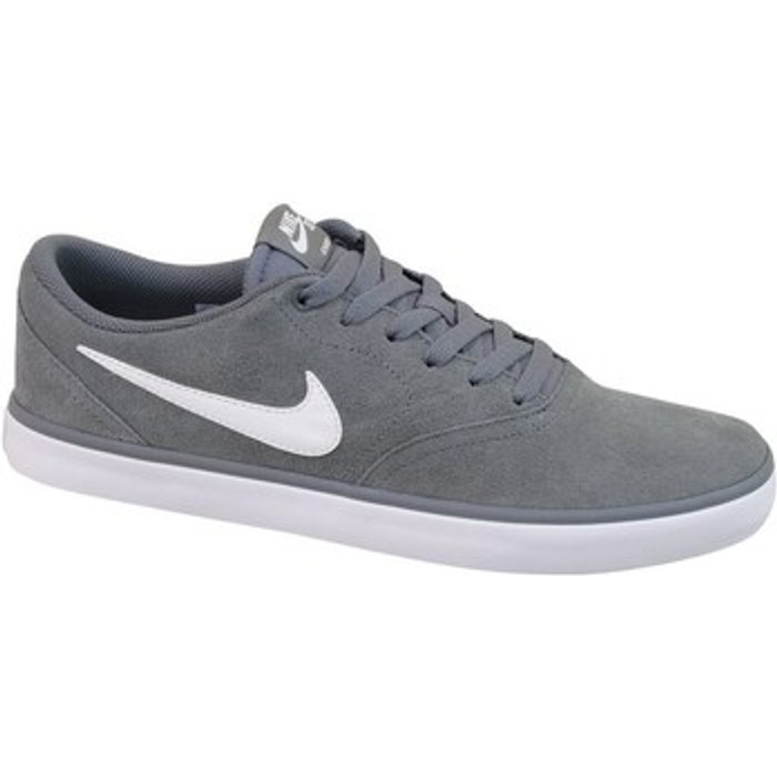 Nike Nike  SB CHECK SOLAR  men's Shoes (Trainers) in Grey. Sizes available:6.5,7.5,8,9,9.5,10.5