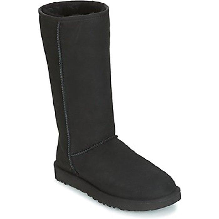 UGG UGG Women's Classic Tall II Sheepskin Boots - Black - UK 6.5 - Black
