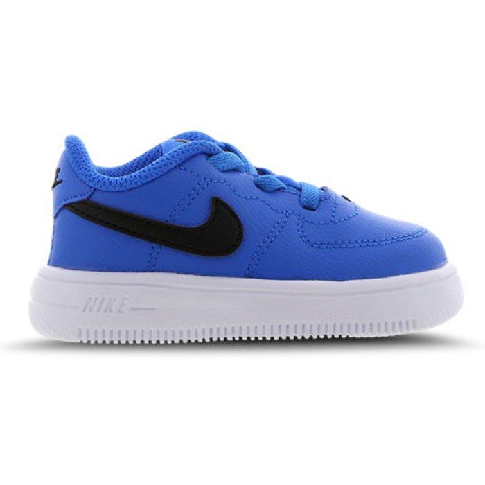 Nike Nike Boys Force 1 18 td Basketball Shoes, Photo BlueBlack 402, 7.5 UK