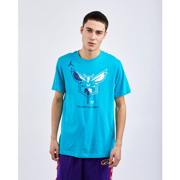 Jordan Jordan Nba Charlotte Hornets Dri-fit - Men T-Shirts