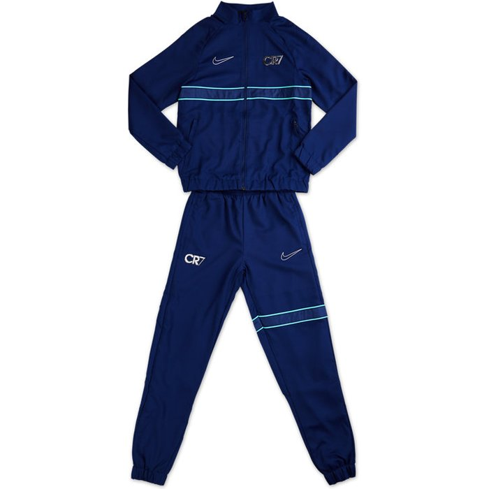 Nike Boys Nike Navy CR7 Tracksuit -  Blue