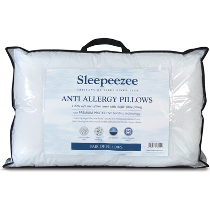 Sleepeezee Anti Allergy Pillow Pair
