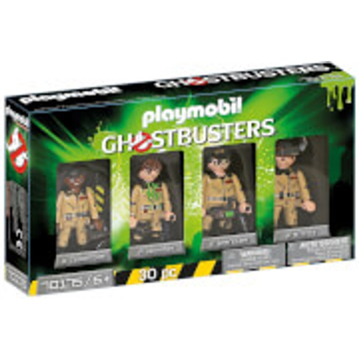 Playmobil UK Boys Playmobil 70175 Ghostbusters Collectors Set