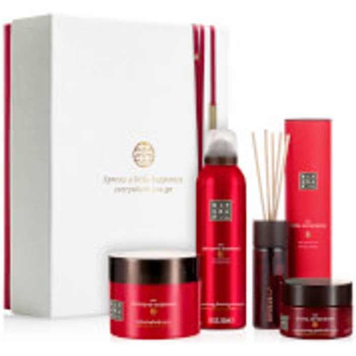 RITUALS RITUALS The Ritual of Ayurveda Luxury and Relaxing Beauty Gift Set Large for Women, contains a shower foam, body scrub, body cream and mini fragrance sticks