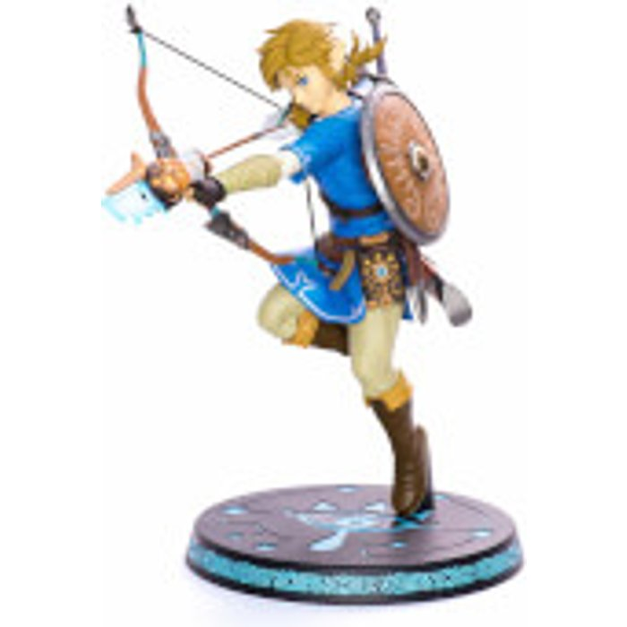 Save £20.00 - First 4 Figures The Legend Of Zelda: Breath of the Wild 25cm PVC Figures - Link