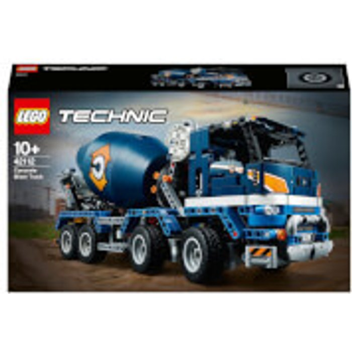 Save £20.00 - LEGO Technic: Concrete Mixer Truck (42112)