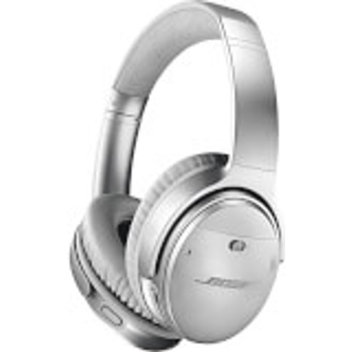 Save £65.00 - Bose QuietComfort 35 (Series II) Wireless Headphones, Noise Cancelling with Alexa Built-In - Silver