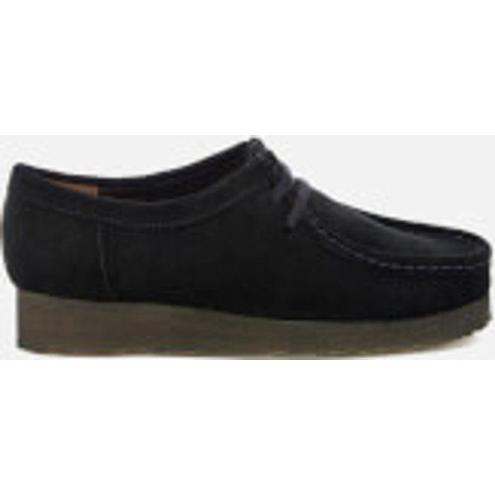 Clarks Originals Clarks Originals Women's Wallabee Shoes - Black Suede - UK 3 - Black