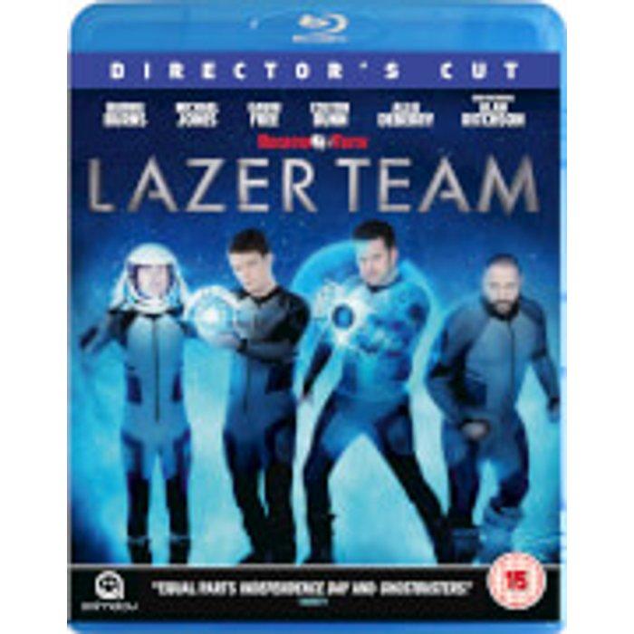 Lazer Team: Director's Cut New  Blu-Ray