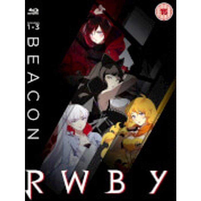 Monty Oum Rwby: Volume 1-3 New  Blu-Ray Special Edition