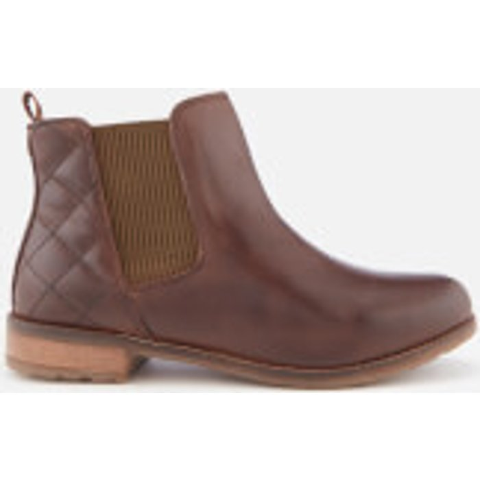 Barbour Barbour Women's Abigail Leather Chelsea Boots - Wine - UK 4 - Brown