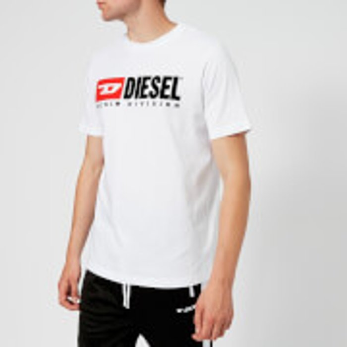 Diesel Diesel Men's Just Division T-Shirt - White - S - White