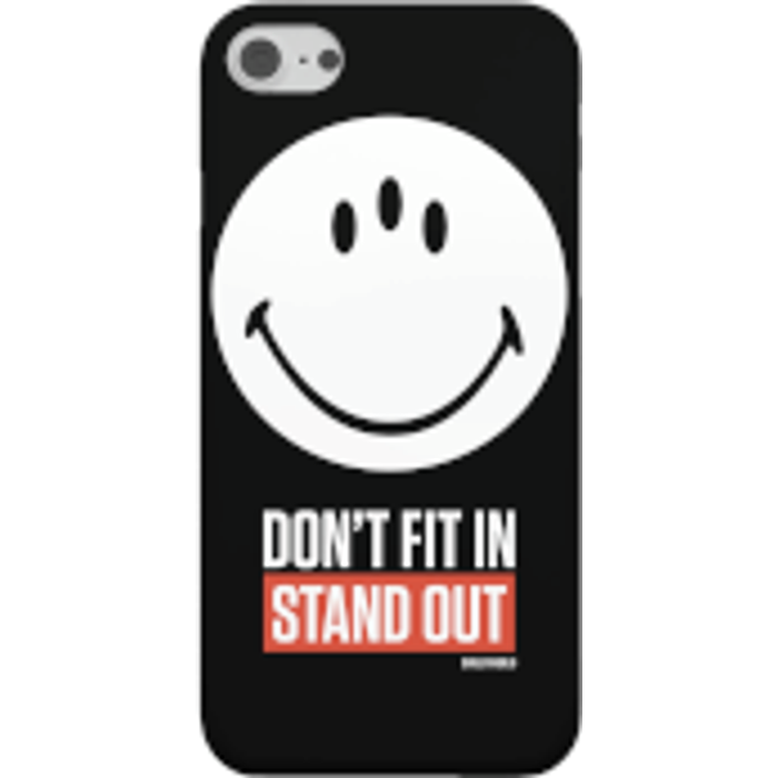 Save 68% - Smiley World Slogan Don't Fit In, Stand Out Phone Case for iPhone and Android - iPhone 6 Plus - Tough Case - Matte