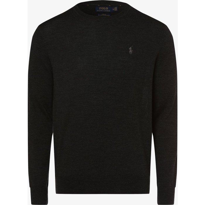 Artikel klicken und genauer betrachten! - Der Pullover von Polo Ralph Lauren trumpft mit einer weichen Knit-Qualität aus reiner Merinowolle. | im Online Shop kaufen