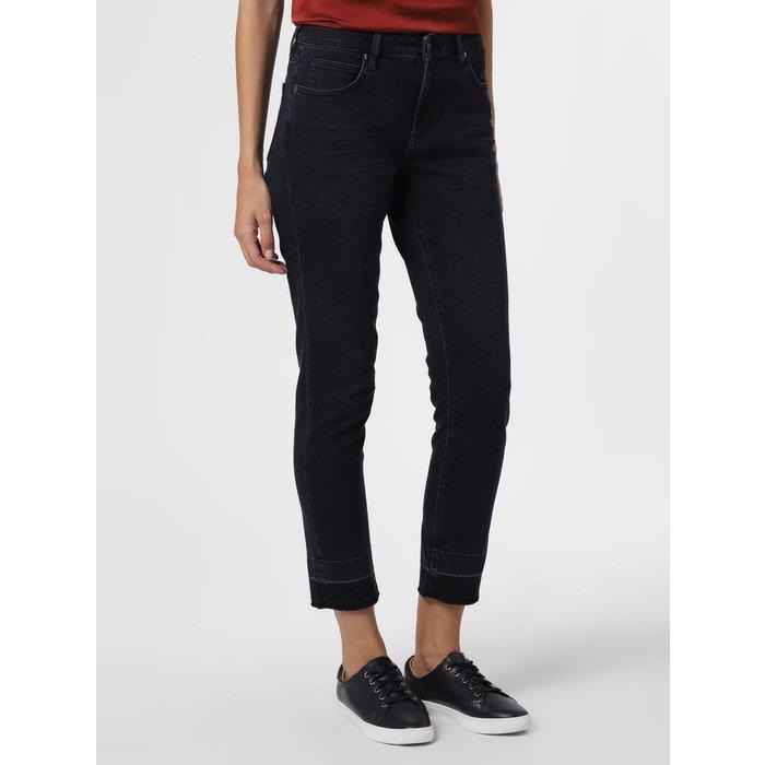 Artikel klicken und genauer betrachten! - Fransige Abschlüsse verleihen der Jeans Cadey von Someday ein freches Finish und addieren eine besondere Note zum cleanen Design.   im Online Shop kaufen