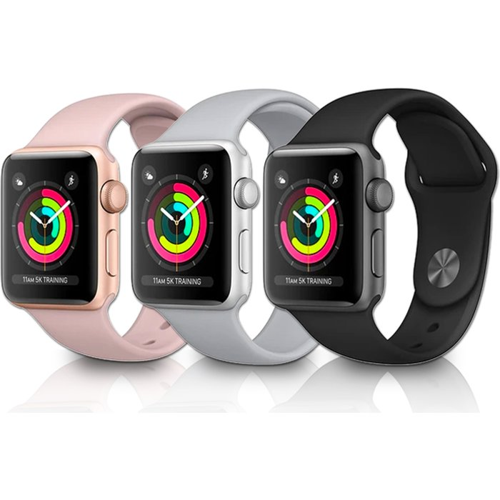 HALF PRICE! Apple Watch Series 3 w/Screen Protector Option - 38mm or 42mm