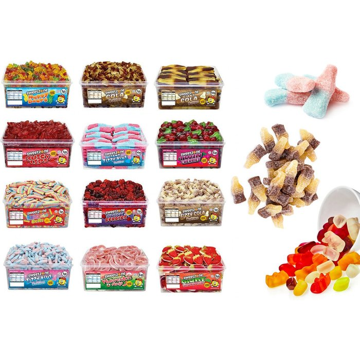 Giant Tub of Sweets – 12 Options!