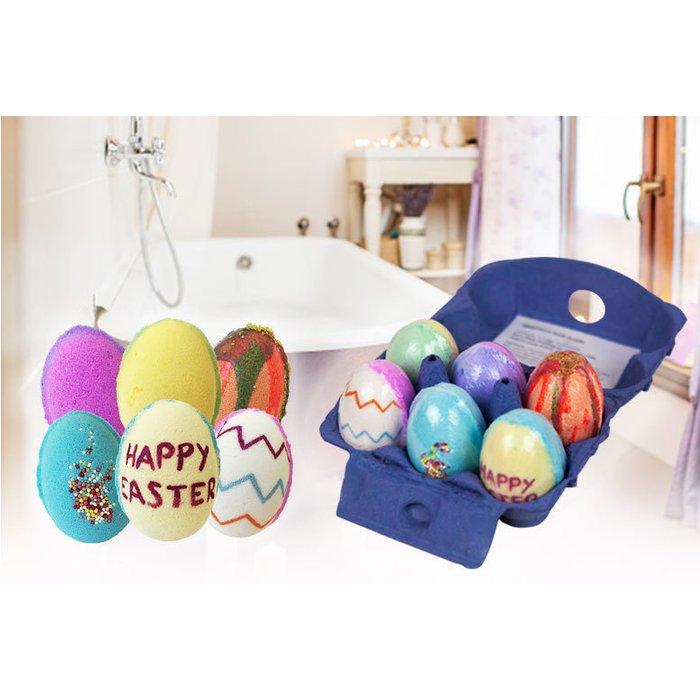 Save 73% - Easter Egg Bath Bomb Gift Set - 6 Pack