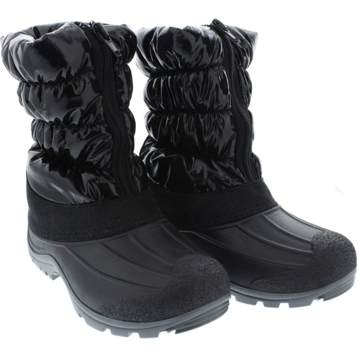Śniegowce dziewczęce czarne 3Z37AO
