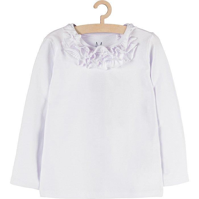 Bluzka dziewczęca biała 3H3703