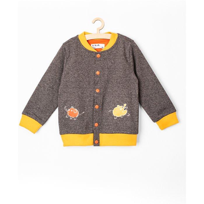 Bluza rozpinana niemowlęca 5F3801