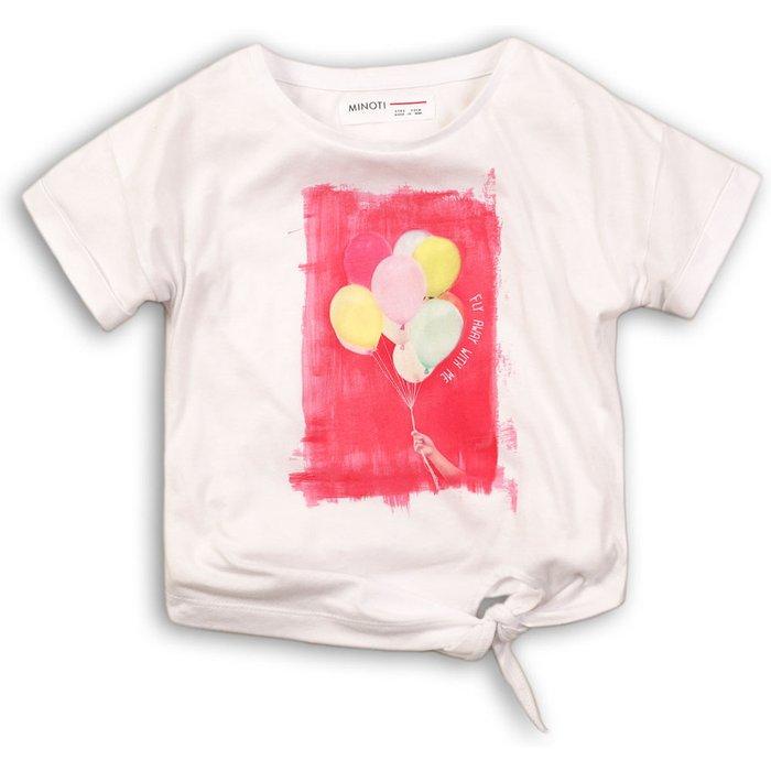 T-shirt dziewczęcy 3I34CV