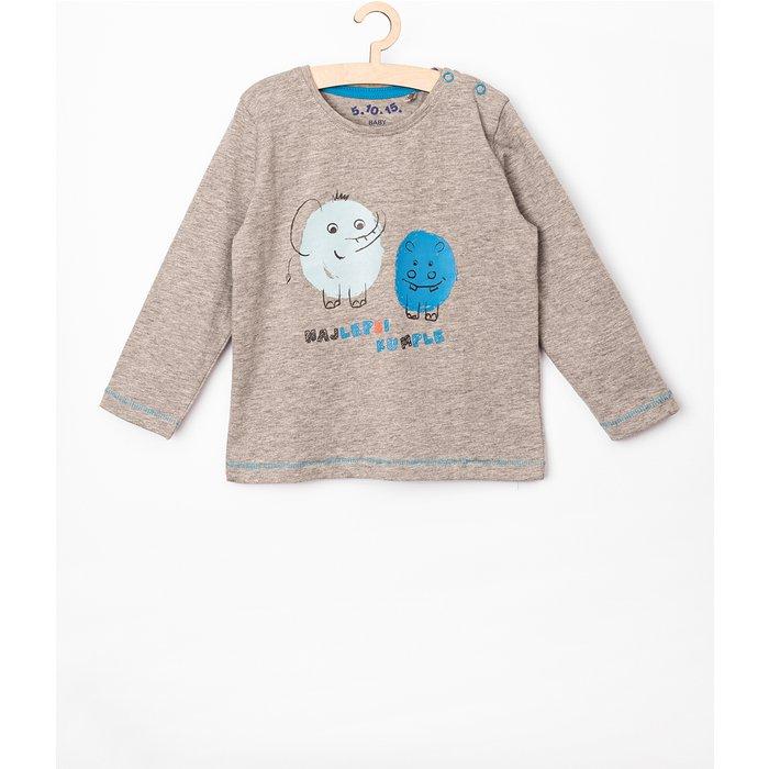 Bluzka niemowlęca szara 5H3804