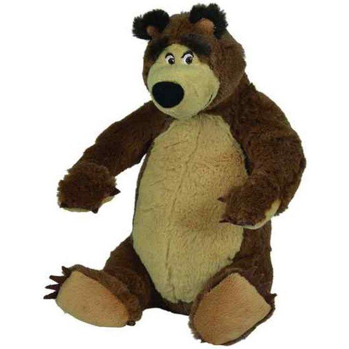 Masza, Pluszowy niedźwiedź 25 cm siedzący
