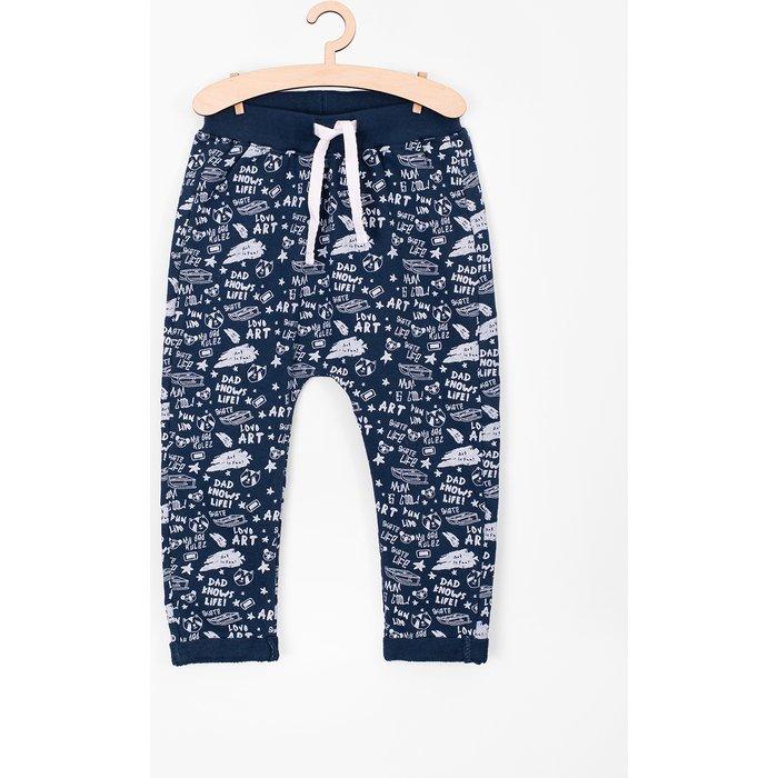 Spodnie dresowe niemowlęce 5M3705
